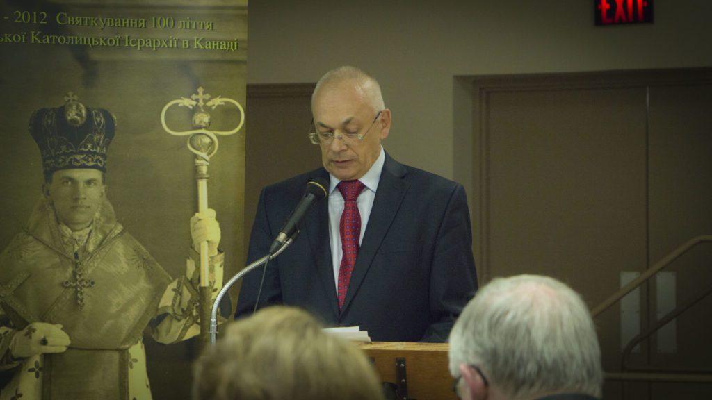 Dr. Volodymyr Kravchenko, director of CIUS