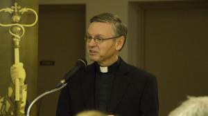 the Most Reverend David Motiuk, bishop of the Ukrainian Catholic Eparchy of Edmonton