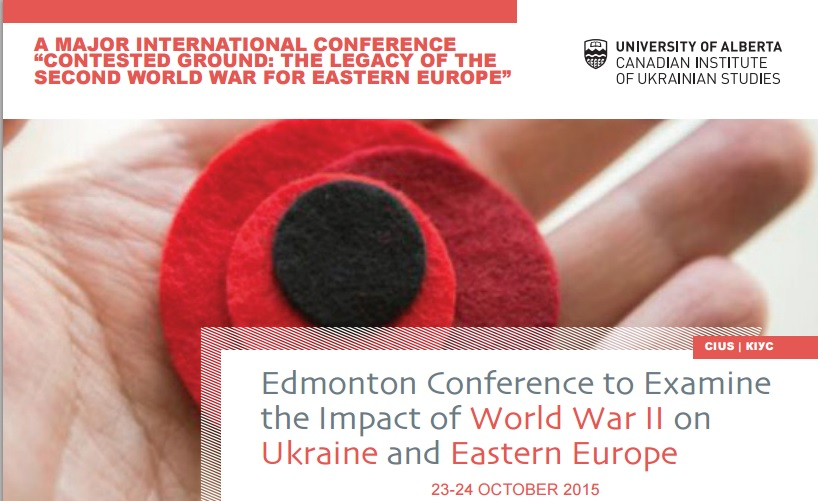 Edmonton Conference to Examine the Impact of WWII on Ukraine and Eastern Europe