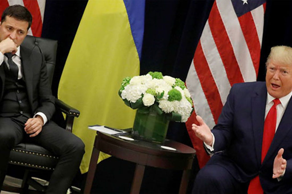 Impeachment inquiry refocuses attention on the war in Ukraine