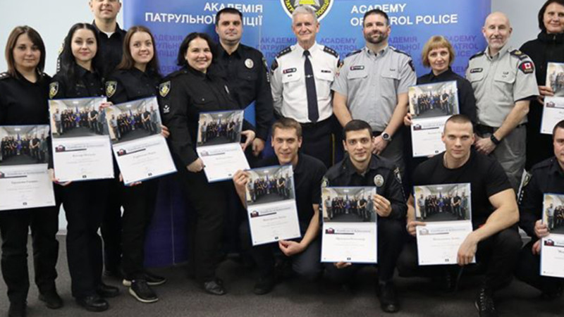 Academy of Patrol Police: A cornerstone of Ukrainian law enforcement reform